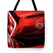 1963 Chevrolet Impala Ss Red Tote Bag
