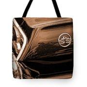 1963 Chevy Impala Ss Sepia Tote Bag
