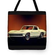 1963 Corvette 2nd Generation Tote Bag