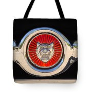 1963 Jaguar Xke Roadster Emblem Tote Bag