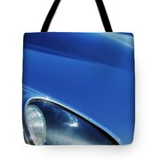 1963 Jaguar Xke Roadster Headlight Tote Bag