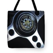 1963 Jaguar Xke Roadster Steering Wheel Tote Bag