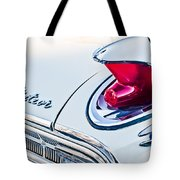 1963 Mercury Meteor Taillight Emblem Tote Bag