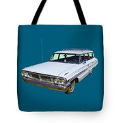 1964 Ford Galaxy Country Sedan Stationwagon Tote Bag