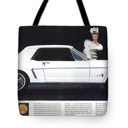 1964 Ford Mustang Muscle Tote Bag