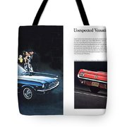 1964 Ford Mustang-08-09 Tote Bag