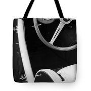 1964 Morgan 44 Black And White Tote Bag