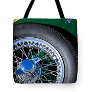 1964 Morgan 44 Spare Tire Tote Bag