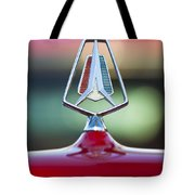 1964 Plymouth Hood Ornament Tote Bag
