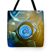 1965 Aston Martin Db5 Coupe Rhd Steering Wheel Tote Bag by Jill Reger