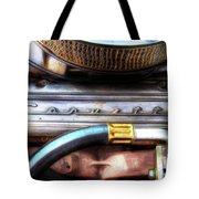 1965 Corvette Engine Digitally Painted Tote Bag