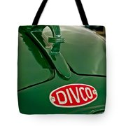 1965 Divco Milk Truck Hood Ornament Tote Bag