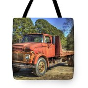 1965 Ford F600 Snub Nose Commercial Truck Tote Bag