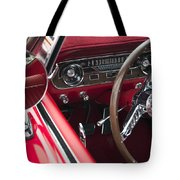1965 Ford Mustang Fastback Dash Tote Bag