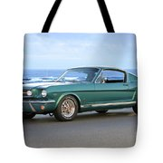 1965 Ford Mustang Fastback II Tote Bag