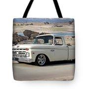 1965 Ford 'twin I Beam' Pickup Tote Bag