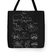 1965 Golf Shoes Patent Tote Bag