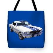 1965 Gt350 Mustang Muscle Car Tote Bag
