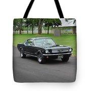 1965 Mustang Fastback Kearney Tote Bag