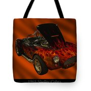 1965 Shelby Cobra Tote Bag