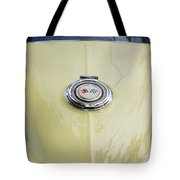 1965 Yellow Sting Ray Gas Cap Tote Bag