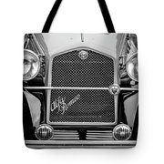 1966 Alfa Romeo Quattro Route 4r -0134bw Tote Bag