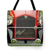 1966 Alfa Romeo Quattro Route 4r Grille Tote Bag