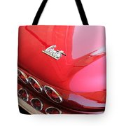 1966 Corvette Stingray Tote Bag