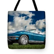 1966 Corvette Stingray  Tote Bag by Ron Pate