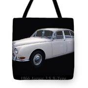 1966 Jaguar 3.8 S Type Tote Bag
