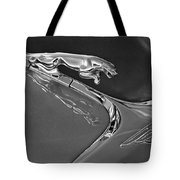 1966 Jaguar Hood Ornament 2 Tote Bag