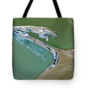 1966 Jaguar Hood Ornament Tote Bag