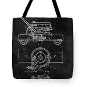 1966 Lawn Mower Patent Image Tote Bag
