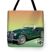 1966 Morgan 4 Plus 4 Tote Bag