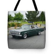 1966 Plymouth Belvedere Rapp Tote Bag