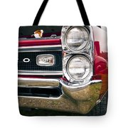 1966 Pontiac Gto Grill Tote Bag