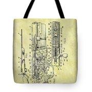 1966 Rifle Patent Tote Bag
