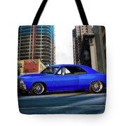 1967 Chevelle 'city-fied' Malibu Tote Bag