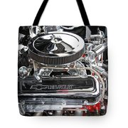 1967 Chevrolet Chevelle Ss Engine Tote Bag