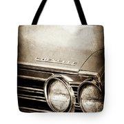 1967 Chevrolet Chevelle Ss Super Sport Emblem -0413s Tote Bag