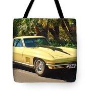 1967 Chevrolet Corvette Sport Coupe Tote Bag