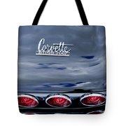 1967 Chevrolet Corvette Taillight 3 Tote Bag
