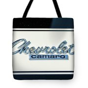 1967 Chevy Camaro Tote Bag