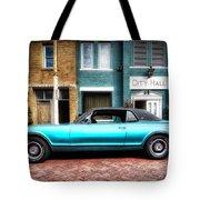1967 Cougar Gt _hdr Tote Bag