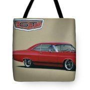 1967 Ford Fairlane Gt Tote Bag