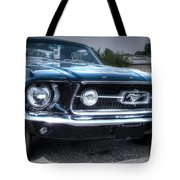 1967 Ford Mustang Tote Bag