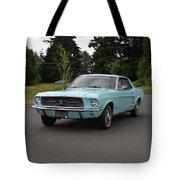 1967 Ford Mustang Watts Tote Bag