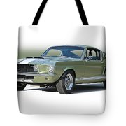 1967 Mustang 'shelby Gt 500' Tote Bag