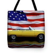 1967 Plymouth Belvedere Tribute Tote Bag