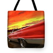 1967 Plymouth Satellite Convertible Tote Bag